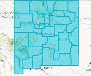 Covid-19 numbers drop in all counties. State is turquoise